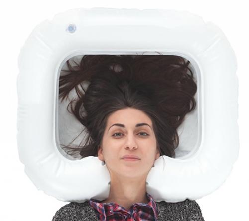 Подголовник для мытья головы надувной